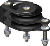 Double Foot block for 18 mm line