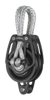 Double loop block with becket